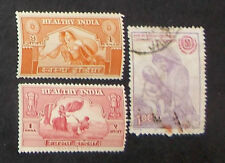 India- used/mh- Healthy India/IYC- 3 stamps- IN-298