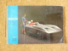 Auto Sammelalbum 60er Jahre