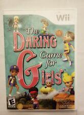 The Daring Game for Girls (Nintendo Wii, 2010) C.I.B FREE SHIPPING
