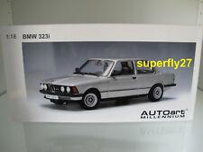 1:18 AUTOart 75112 BMW 323i 1977 polarissilver / silber, NEU & OVP RAR