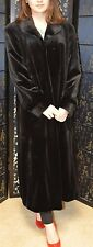 Close Out Sale! Brand new without tag, Black sheared mink fur coat, size 4