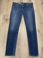 AG Women's Jeans Size ACTUAL SIZE 28X27.5 ~The Legging Ankle Super Skinny ~ MINT