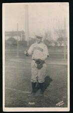 1912 Wisconsin Badgers Baseball Postcard RPPC -CHARLES? MOLL *RARE*