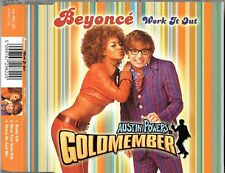 "BEYONCE - 5"" CD - Work It Out (Radio edit) + (Azzas Nu Soul Mix) +1. Columbia"