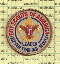 BSA LDS MORMAN ADULT POSITION 11 YEAR OLD SCOUT LEADER CHURCH PATCH MINT