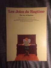 Les joies du ragtime partition pour piano Denis Agay éditions EmF