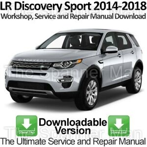 Land Rover Discovery Sport L550 2014-2018 Workshop and Repair Manual DOWNLOAD