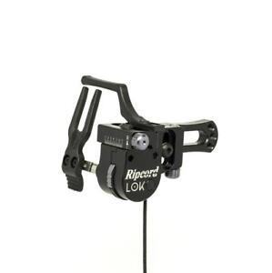 New Ripcord Lok Micro Adjust Fall Away Compound Archery Arrow Rest LH Black