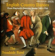 English Country Dances 5013133439321 by Broadside Band CD