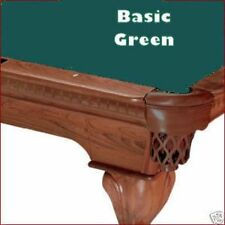 7' Basic Green ProLine Classic Billiard Pool Table Cloth Felt - SHIPS FAST!