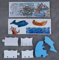 Überraschungsei Figur Knut in Seenot UeEi 1995 abenteuerliche Bootsfahrt