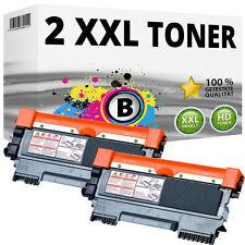 2 XL tóner para Brother dcp-7055w 7057e hl2130 hl2132e hl2135w fax 2840 2845 2940