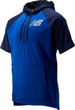 New Balance Men's BP Fleece Short Sleeve Hoodie