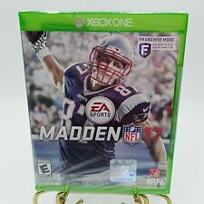 XBOX One Madden NFL 17 2016 Football Video Game Sports Sealed