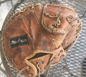 Vintage Macgregor Catchers Pro Style Mitt G180H  Double Flex Pad Made In USA