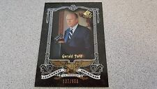 GERALD FORD 2007 SP LEGENDARY CUTS AMERICANA #D 137/550 BASEBALL CARD