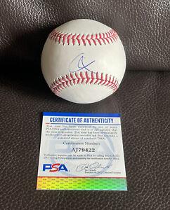 Corey Kluber Signed Official MLB Baseball Psa/Dna Coa New York Yankees