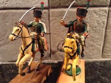 Toy Soldiers 2 Metal 60mm Mounted Napoleonic Hussars