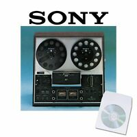 Sony tc377 tape recorder user service manual cd reel to reel manuals