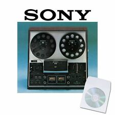 Sony tc377 Enregistreur User service manual CD reel to reel manuels