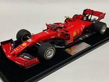 1/18 Looksmart MR Ferrari SF90 2019 Belgian GP Winner of C.Leclerc LS18F1023