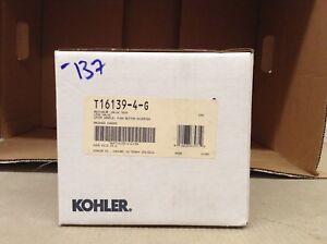 KOHLER K-T16139-4-G REVIVAL SHOWER VALVE TRIM WITH DIVERTER, BRUSHED CHROME