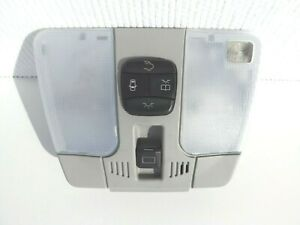 2000-02 Mercedes-Benz w210 E320 E430 roof dome/map light sunroof switch OEM gray