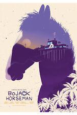 Bojack Horseman Netflix TV Series Poster Print T381  A4 A3 A2 A1 A0 