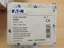 Interruttore magnetotermico 2P 16A 2 moduli 6KA EATON 242880