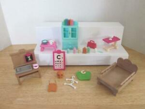 Calico Critters Health Clinic Replacement Furniture and Accessories