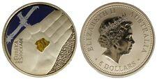 AUSTRALIA 5 DOLLARS 2004 COLORATA/COLORED (CERCATORI D'ORO) FDC/UNC §460