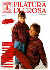 Filatura Di Crosa Knitting Magazine w/ 43 Patterns Autumn Winter Collection #26