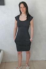 dress robe en lycra noir HIGH USE taille M (38)  NEUVE ÉTIQUETTE valeur 400€