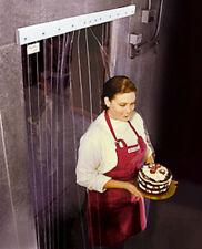 """Walk In Cooler Freezer Door Plastic Strips Nsf Curtain 40"""" x 80"""""""