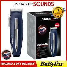 Babyliss 7474U Mains/Cordless Ceramic Smooth Cut Clipper Trimmer for Men