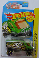 2015 Hot Wheels HW OFF-ROAD Aero Pod 104/250 (Green Version)