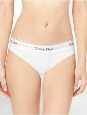 Calvin Klein Modern Cotton Bikini Brief Underwear  - WHITE-SMALL **FREE UK P&P**