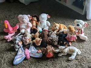 Ty Beanie Babies Lot Of 16