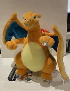 "Pokemon Charizard Plush 9"" BNWT"