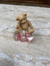 Cherished Teddies Vintage Bear Figurine 1996 Enesco #902969
