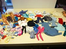 Vtg Barbie Doll Lot Ken Clothes Shoes Accessories 1960s to 1980s Tagged Homemade