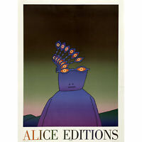 Folon Alice Editions Abstract Cover Artwork Extra Large Art Poster