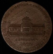 CANADA Quebec Montreal 1880 Dominion Exhibition 36mm Wood Leroux 1504 Inv 4772