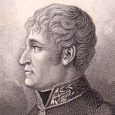 Portrait XIXe Pierre Louis Agathe Tuffet Rochefort Charente-Maritime Chirurgie