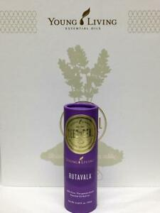 New Young Living RutaVala 100% Pure Therapeutic-Grade Essential Oil Roll-On 10ml
