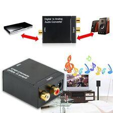Ottica Coassiale Toslink Digitale a Analogico Audio Convertitore Adattatore CN