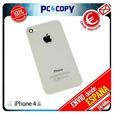 R99 TAPA TRASERA IPHONE 4S BLANCO CRISTAL REPUESTO BATERIA CARCASA IPHONE4S