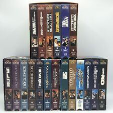 The James Bond Collection VHS Boxed Sets Volumes 1 2 3 (19 Films)