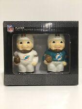 BNIB Miami Dolphins NFL Player Salt & Pepper Shakers Super Bowl