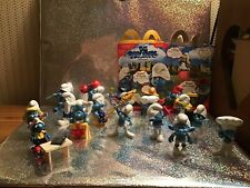 Smurfs Toy figures- Lot Of 18! McDonalds